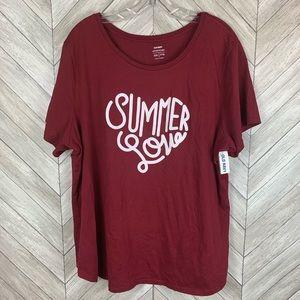 NWT Summer love T-shirt